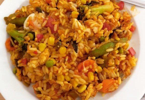 Ülilihtne ja kiire riisi-kana pajaroog